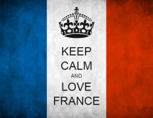 keep calm and love france